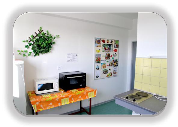 Domov mládeže - společné prostory