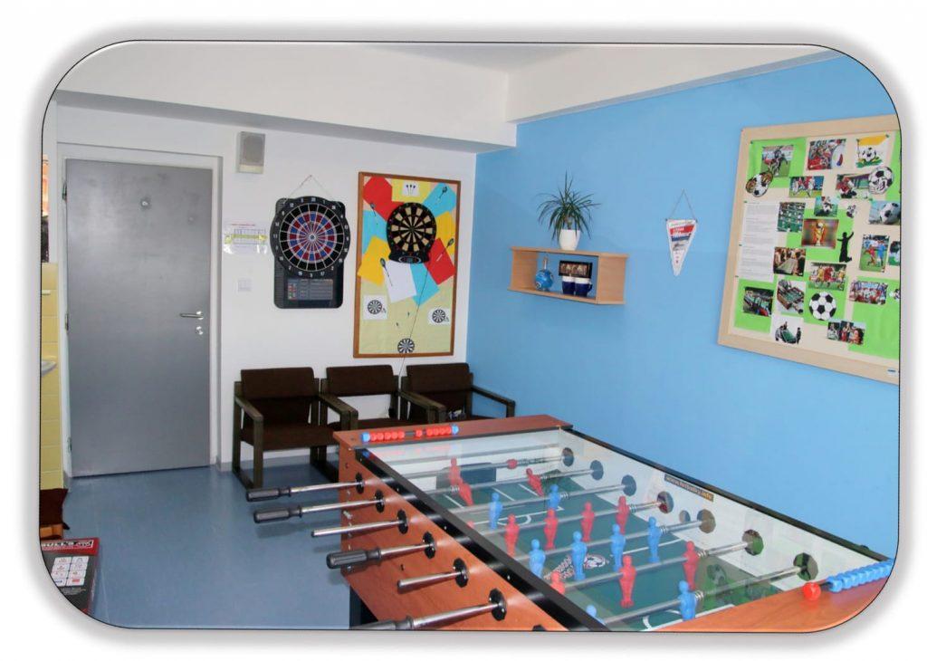 Domov mládeže herna